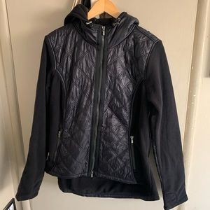 Athleta black puffer jacket